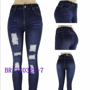 Denim - Blue Republic Skinny High Waist Skinny